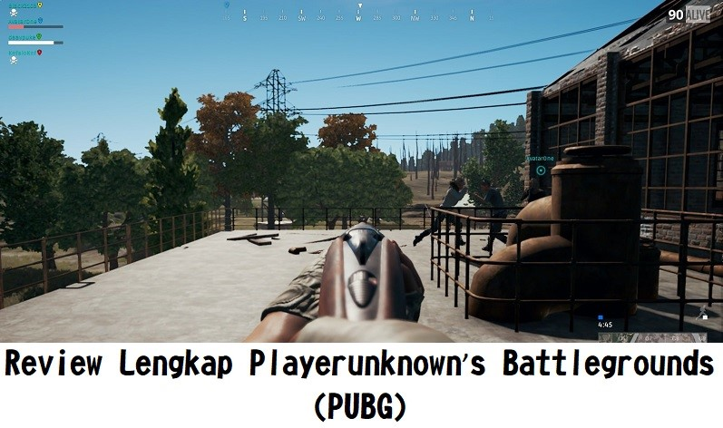 Review Lengkap Playerunknown's Battlegrounds (PUBG)