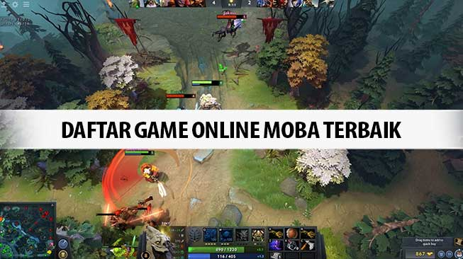Daftar Game Online Moba Terbaik